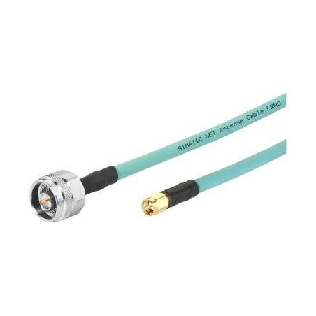 6XV1875-5LH10 Siemens NET N-CONNECT/SMA MALE/ MALE FLEXIBLE CONNECTION CABLE PREASSEMBLED, LENGTH 1M